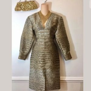 NWT Stella McCartney Snakeskin Dress Size 42 US 12