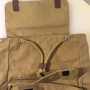 Bella Russo Bags | Nwot Unisex Canvas Backpack | Poshmark