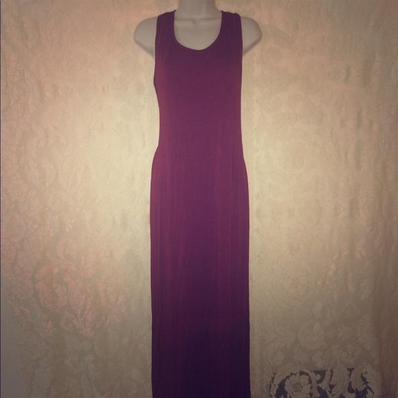 Wet Seal Dresses Plus Size 2x High Side Slit Burgundy Dress Poshmark