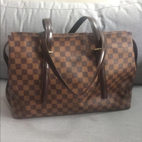 4d01998773bd2 Louis Vuitton Handbags - Louis Vuitton Chelsea Damier Ebene Shoulder Bag