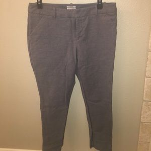 Size 10 Merona classic coupe slim ankle pant
