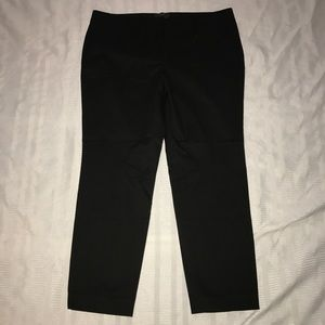 J.Crew cafe Capri stretch khaki pants size 10