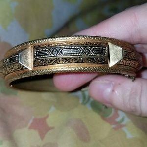 *Vintage Bronze-Toned Bracelet*