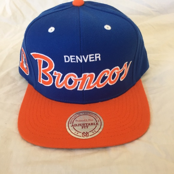 92d7096c Mitchell & Ness Accessories | Mitchell Ness Denver Broncos Snapback ...