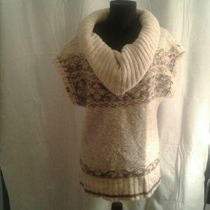 Free People Small Turtleneck sweater Sleeveless