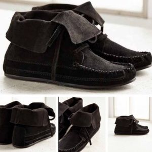 Urban Outfitters moccasin boots