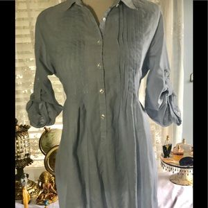Romeo & Juliet Button Up Shirt Dress size Large