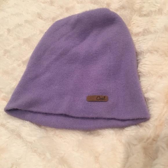 e5f6c8eb Coal Accessories | Slouchy Knit Beanie Purple Lavender | Poshmark