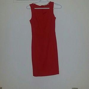 NEW Red body con DRESS