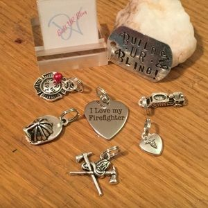 Used, Fire Fighter 6 CharmsBoutique for sale