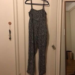 Loft Tribal Printed Jumpsuit