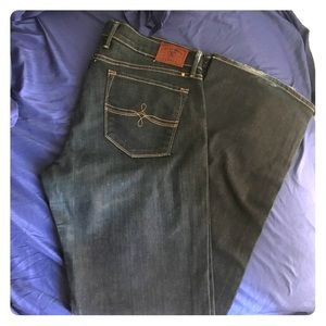 Luckybrand care boot cut jeans