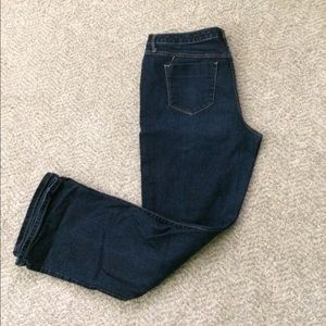 Mossimo Mid-Rise Curvy Bootcut Jeans