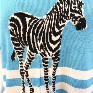 Talbots Sweaters - Talbots Sweater size Large Zebra 🔥🔥🔥🔥🔥
