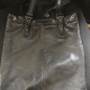 fc241c8aca Yves Saint Laurent Bags - YSL Yves St. Laurent Black Leather studded Tote