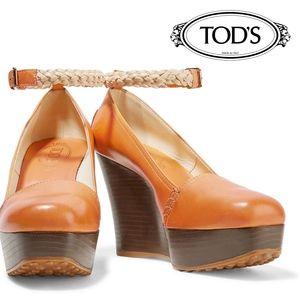 Tod's Platform Heels