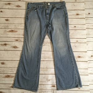 Old Navy light wash flare jeans