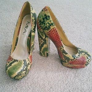 Platform MIA heels