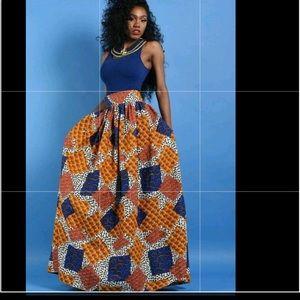 Dresses & Skirts - Long wrap maxi skirt