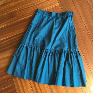 Adorable vintage cotton ruffled skirt