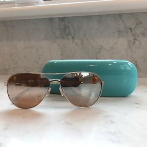 Kate Spade Aviator sunglasses! With case! New!