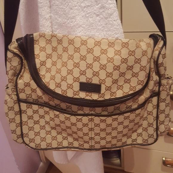 dd4338db9f82 Gucci Handbags - Authentic Gucci diaper bag
