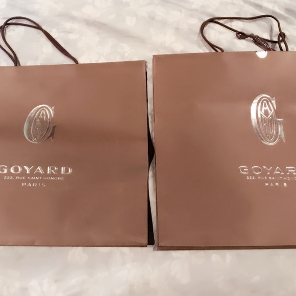 Goyard Accessories - GOYARD Empty Box x 2 and GOYARD Shopping Bags