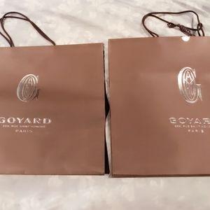 Goyard Accessories - Goyard Empty Box x 2 and GOYARD Shopping Bags