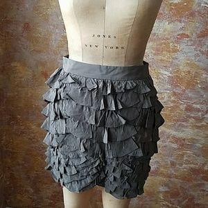 Liefsdottir Ruffled Mini Skirt