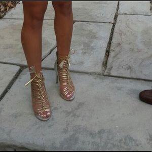 Bebe Lace up Shoes