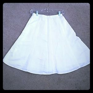 Banana Rebublic A line Midi Skirt