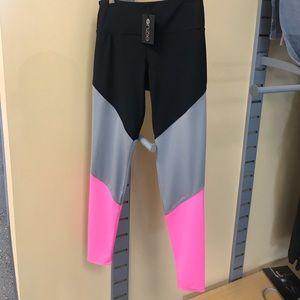NWT ONZIE black-gray-pink long legging!