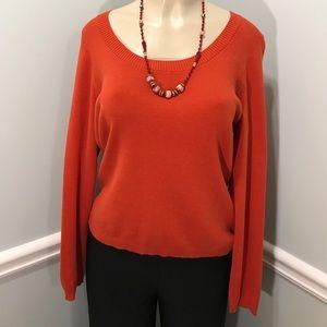 Ann Taylor LOFT Pima Cotton Sweater Size L
