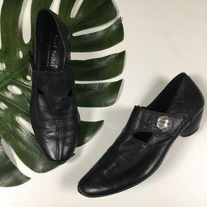 Josef Seibel Comfort Black Loafers