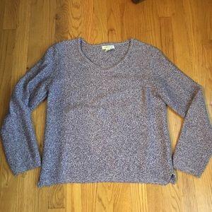 Purple Orvis sweater