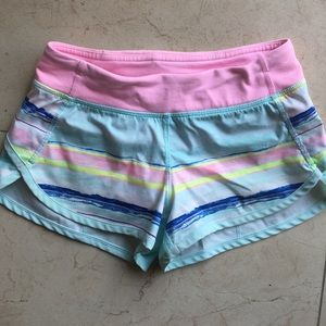 Ivivva Speedy Shorts Sz 8.  Worn once, Like new!!!