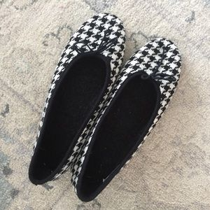 Shoes - Ballerina flats with black bow comfy