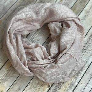 Express Sparkly Infinity Scarf
