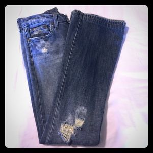 Joes Jeans Distressed Bootcut size 28 (5/6) Cotton