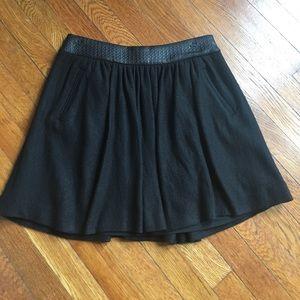 Banana Republic Wool-blend Skirt