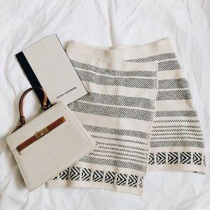 Zara Knitwear Pattern Skirt