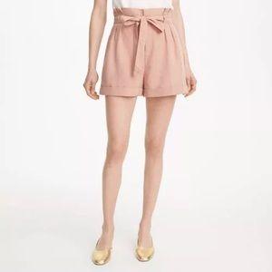 Club Monaco Anree Shorts, Peach Buff, Size 8