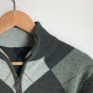 "Brooks Brothers ""346"" 100% Lambswool Sweater"