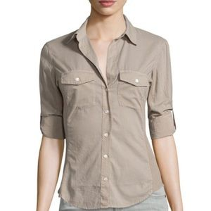 Standard James Perse Contrast Panel Shirt