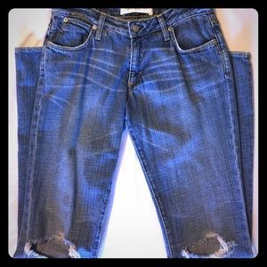 Paper Denim & Cloth Distressed Jeans Size 27 (5/6)