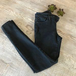 Joe's Skinny Jeans in Faded Black