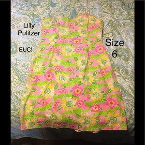 Lilly Pulitzer frisky business keyhole dress