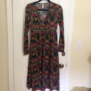 Target Xhiliration Autumn Daze collection dress