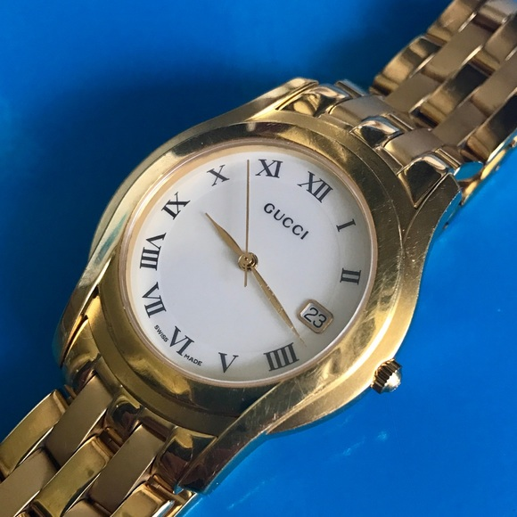 35806d921bb Gucci Other - Authentic Vintage Gucci 5400M Gold Watch