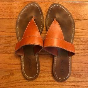 J. Crew Leather Sandals